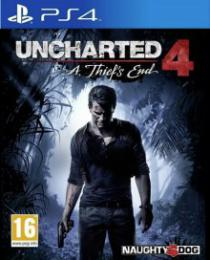 Uncharted 4: A Thiefs End PS4 CZ