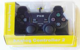 GAMER Twinshock 2 Black PS2
