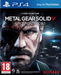 Metal Gear Solid:Ground Zeroes PS4
