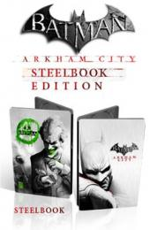 Batman Arkham City Steel Box Edition X360 b