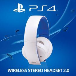 SONY PS4 Wireless Stereo Headset 2.0 Boxed Bílá (PS3+PS4+PS Vita)