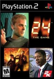 24 the Game PS2 - B