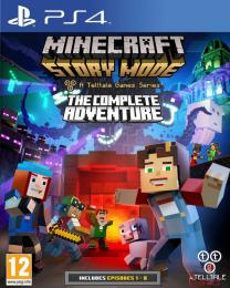 Minecraft Story Mode - Complete Adventure PS4