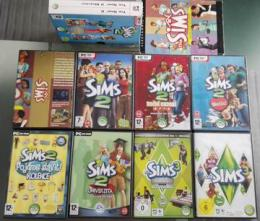Sims Collection 1 + 2 + 3 PC