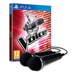 The Voice with 2 microphone PS4