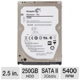 Seagate 250GB 2,5