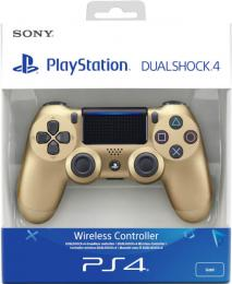 Sony Dualshock 4 verze 2 Gold / Zlatý