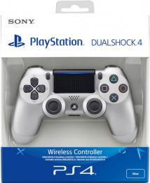 Sony Dualshock 4 verze 2 Silver / Støíbrný