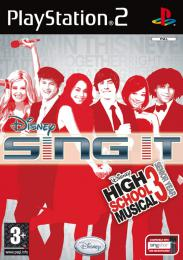 High School Musical 3:Sing It PS2