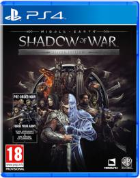Middle-Earth:Shadow of War (Silver Edition) PS4