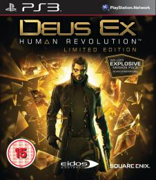 Deus Ex Human Revolution Limited Edition PS3