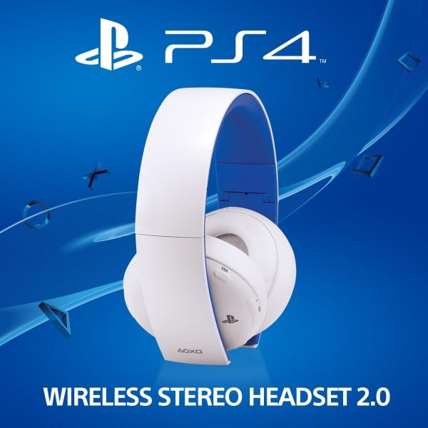 Playstation Wireless Stereo Headset 2.0 (PS3+PS4+PS Vita) WHITE